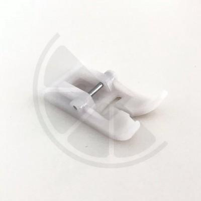 Calcador para tecidos plastificados