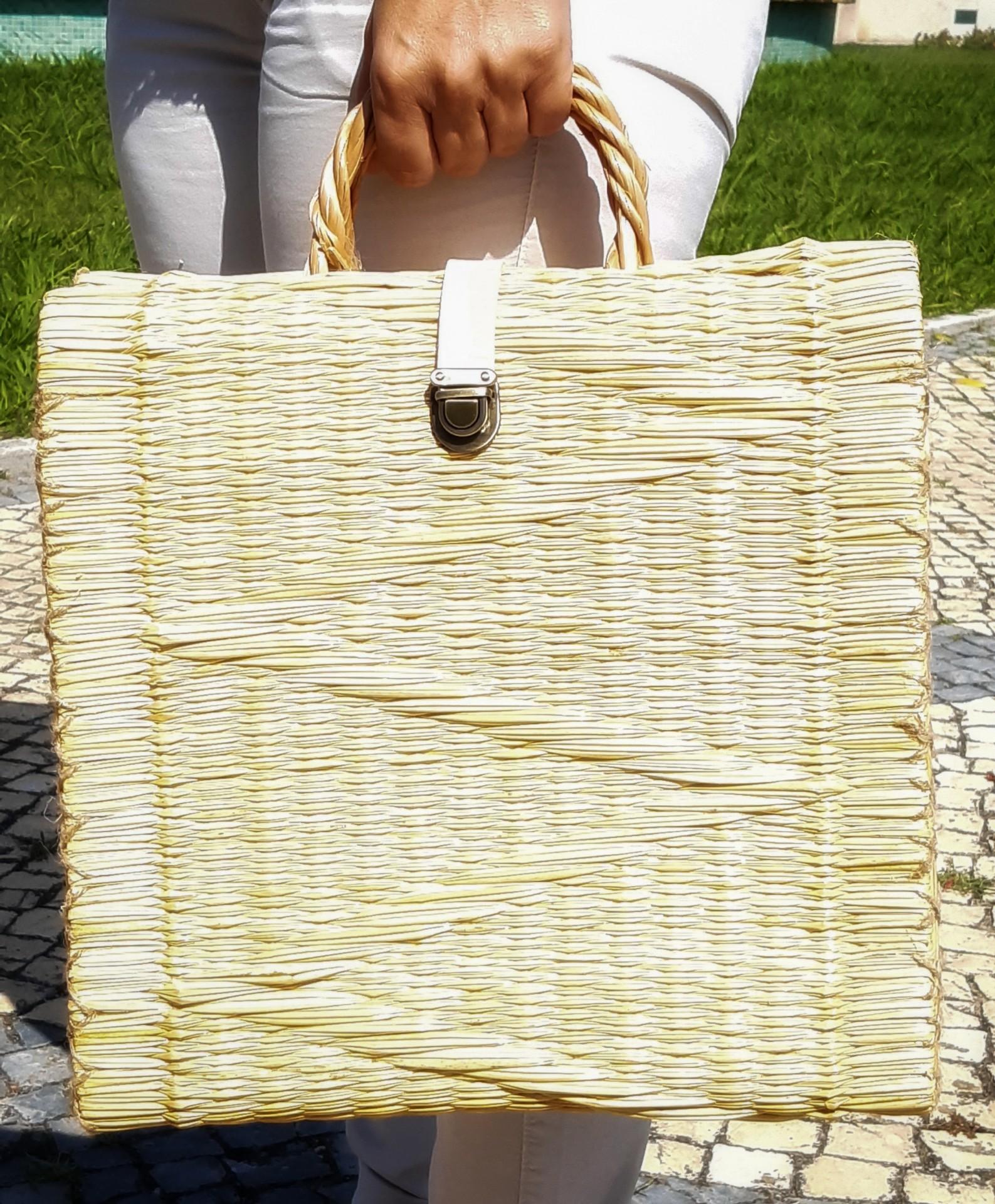 Cesta em junco picnic XL1