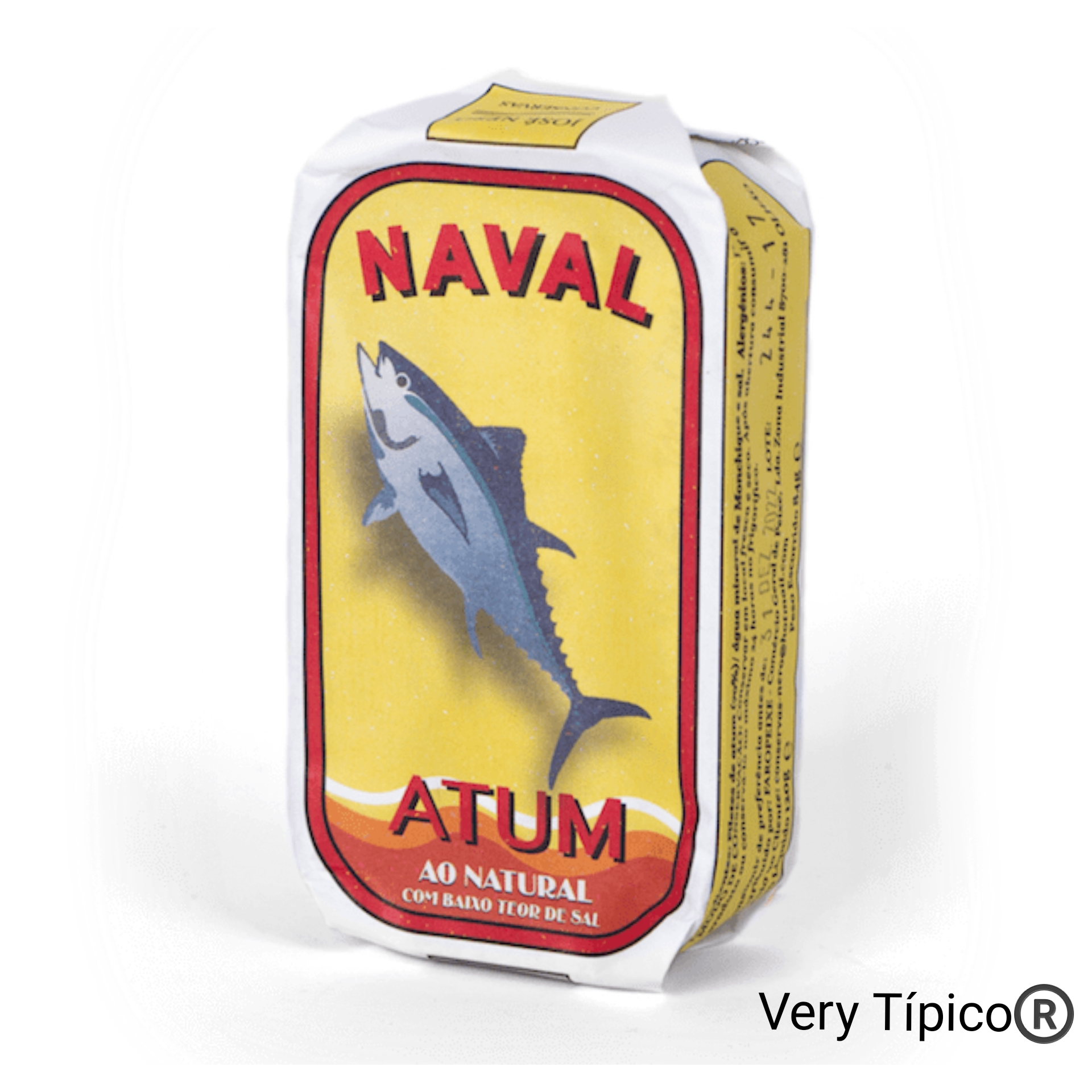 Filetes de Atum ao Natural com baixo teor de sal - Natural Tuna fillets with low salt