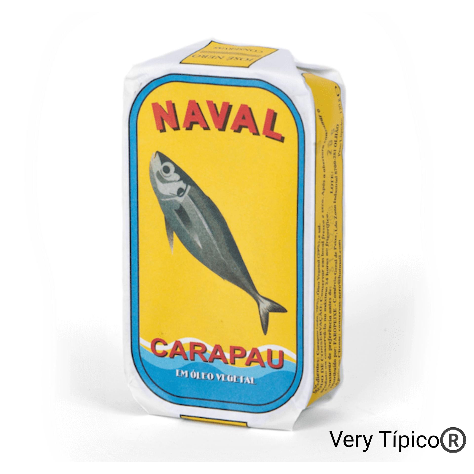 Carapau em Óleo Vegetal - Horse mackerel in vegetable oil