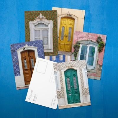 Coleção Portas e Janelas de Olhão - The Olhão Doors and Windows Postcard Collection