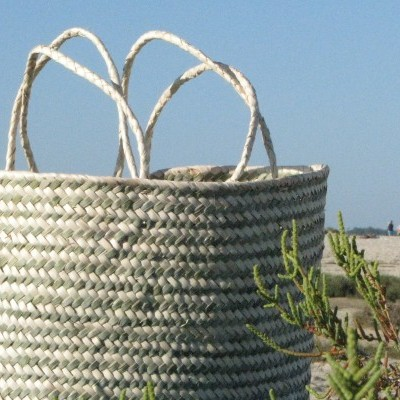 Farol Basket Big Green/ Cesta Farol Grande Verde