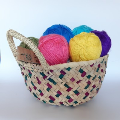 Multipurpose Palm Basket/Cesta Multiusos de Palma Algarvia