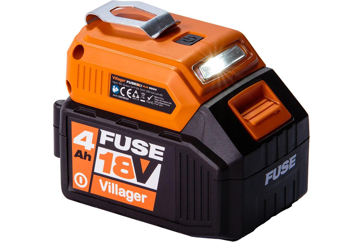 Bateria C/ Lanterna para FUSE 18V