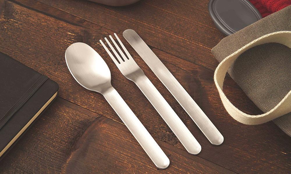 Black Blum Cutlery Set Utensílios