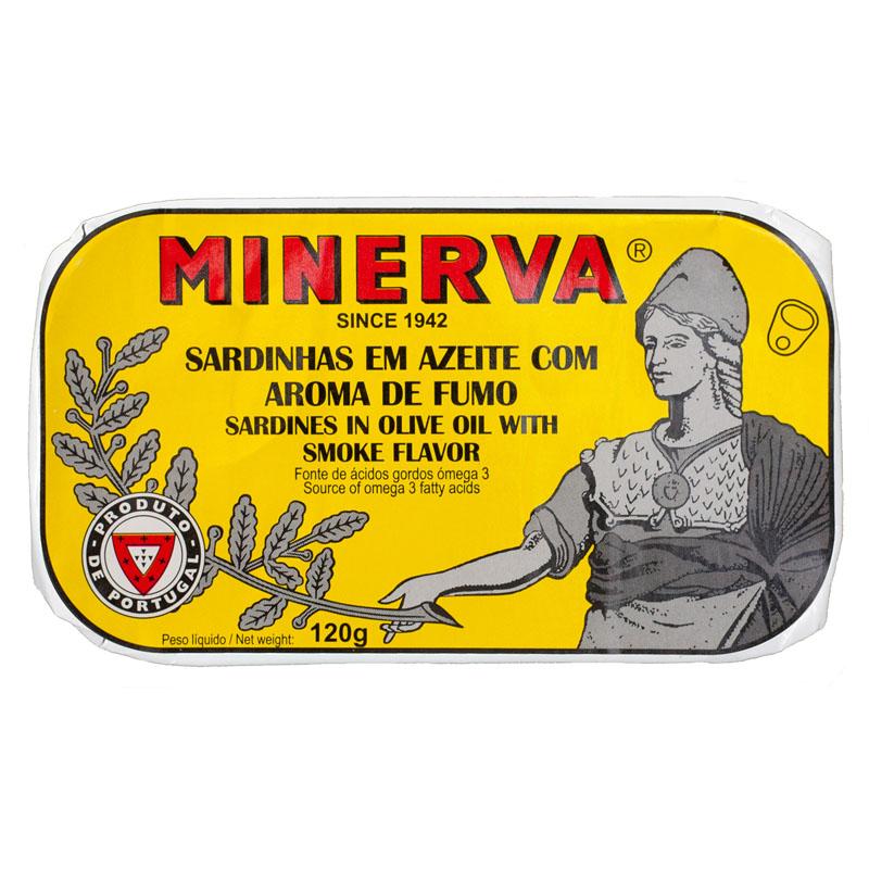 Minerva Sardinhas Fumadas em Azeite Conservas