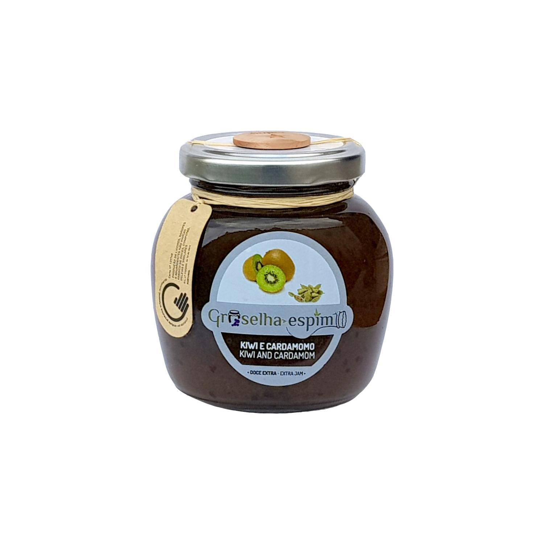 Groselha-Espim Doce Extra de Kiwi e Cardamomo Compotas