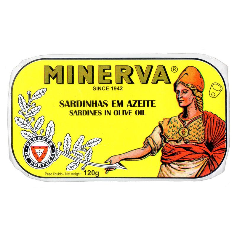 Minerva Sardinhas em Azeite Conservas