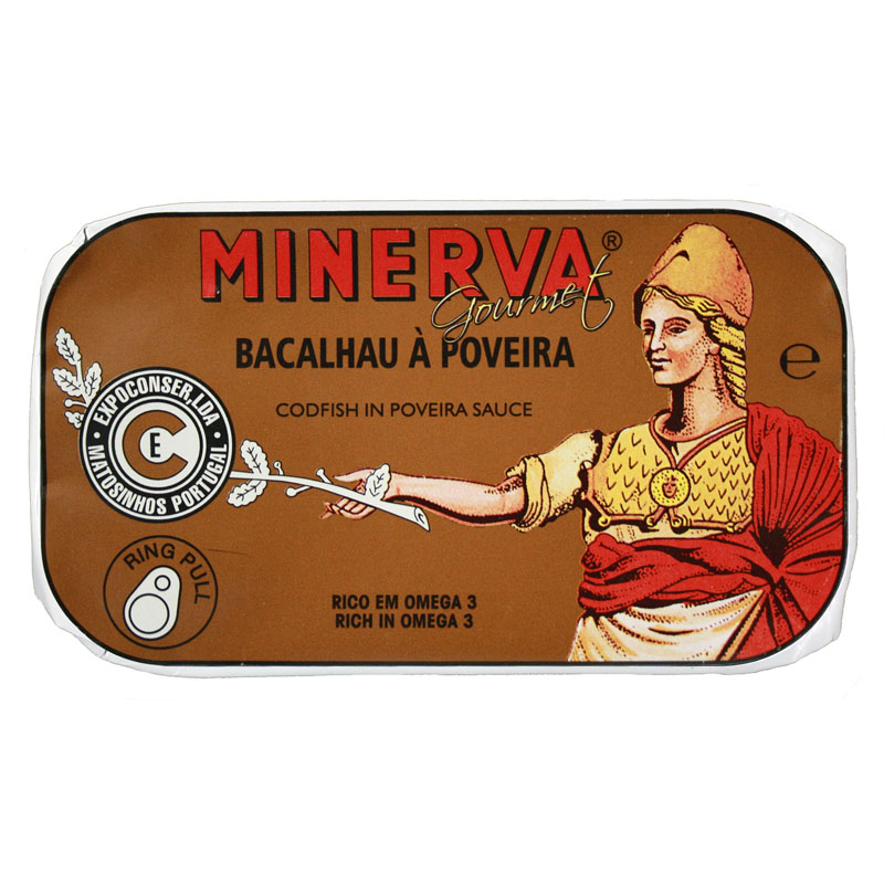 Minerva Bacalhau à Poveira Conservas