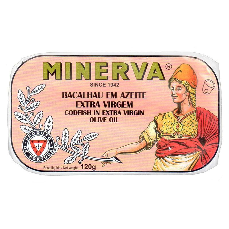Minerva Bacalhau em Azeite Virgem Extra Conservas