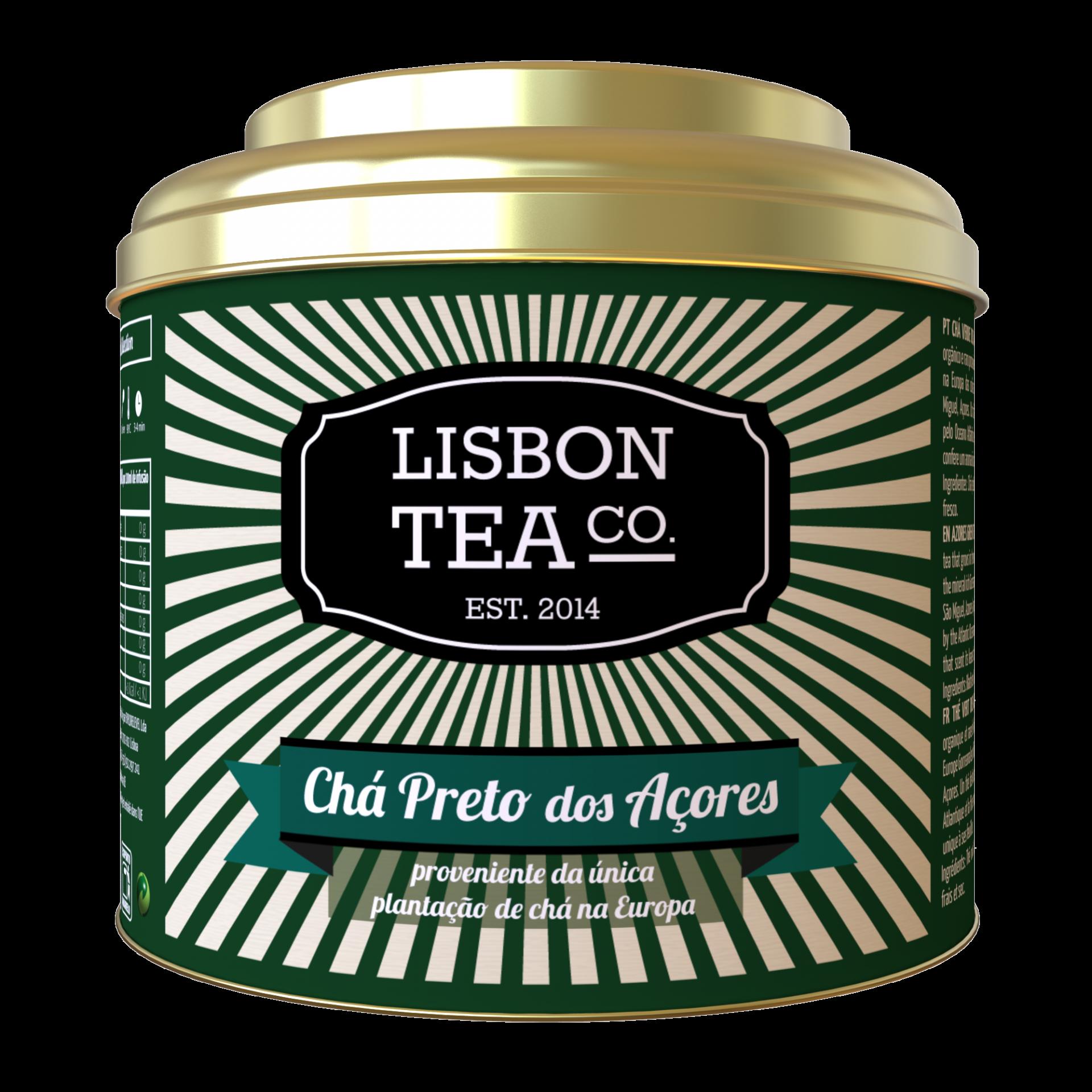 Lisbon Tea Preto Açores Chá