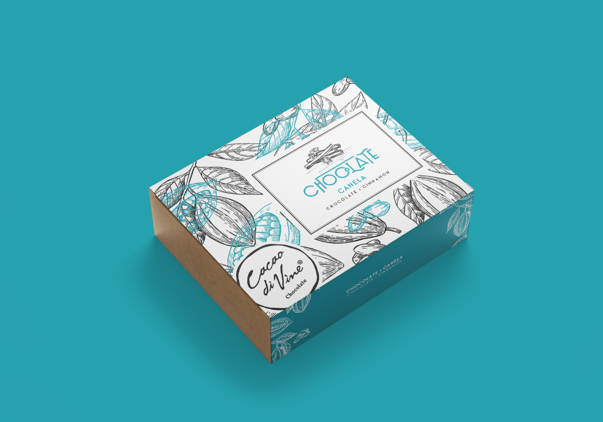 Cacao Di Vine ChocoBox Canela Chocolate
