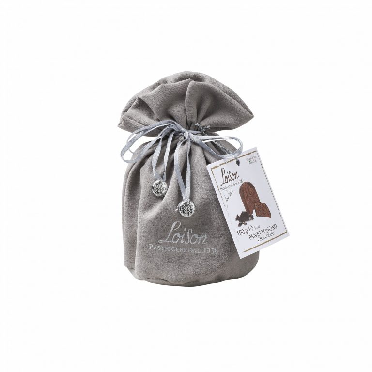 Loison Cioccolato in sacchetto di tessuto Panettoncino