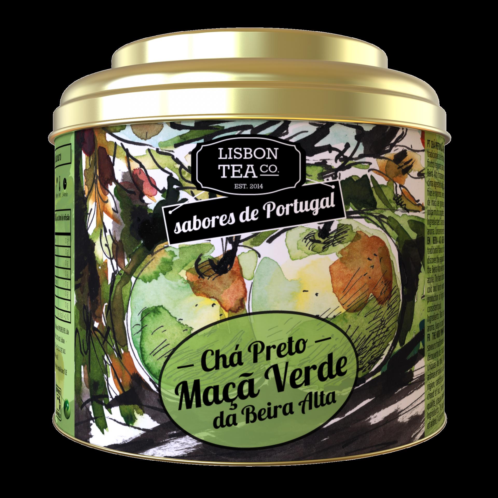 Lisbon Tea Preto Maçã Chá
