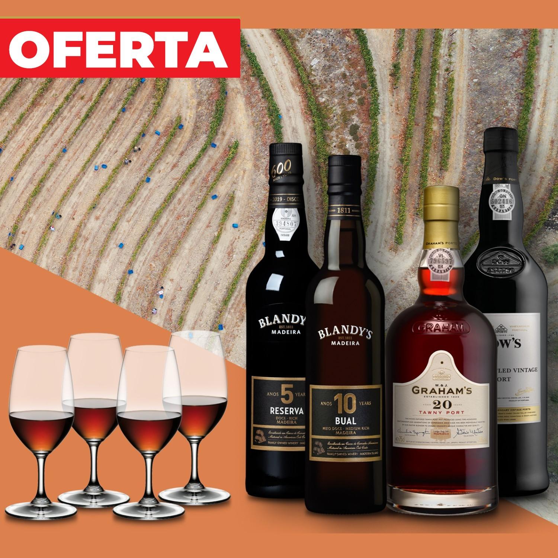 Pack 8 Vinho do Porto & Madeira