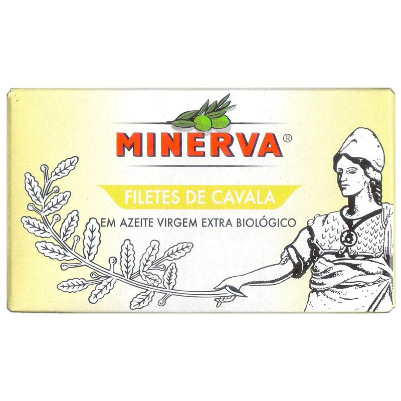 Minerva Filetes de Cavala em Azeite Virgem Extra Biológico Conservas