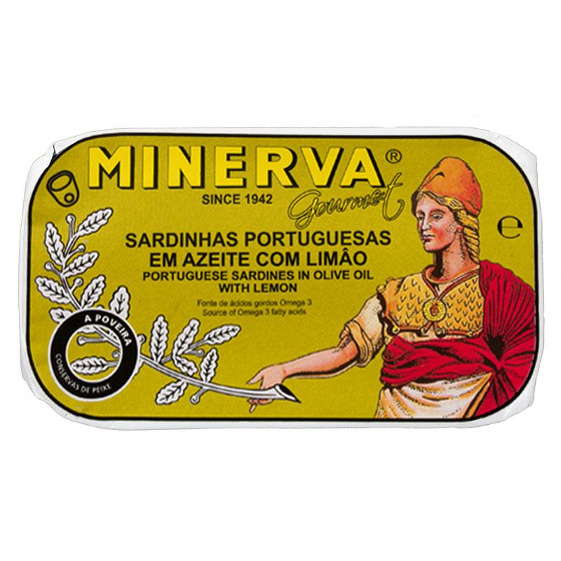 Minerva Sardinhas em Azeite com Limão Conservas