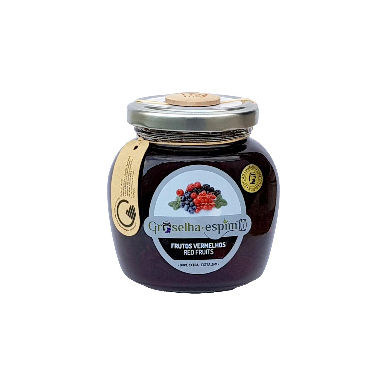 Groselha-Espim Doce Extra de Frutos Vermelhos Compotas