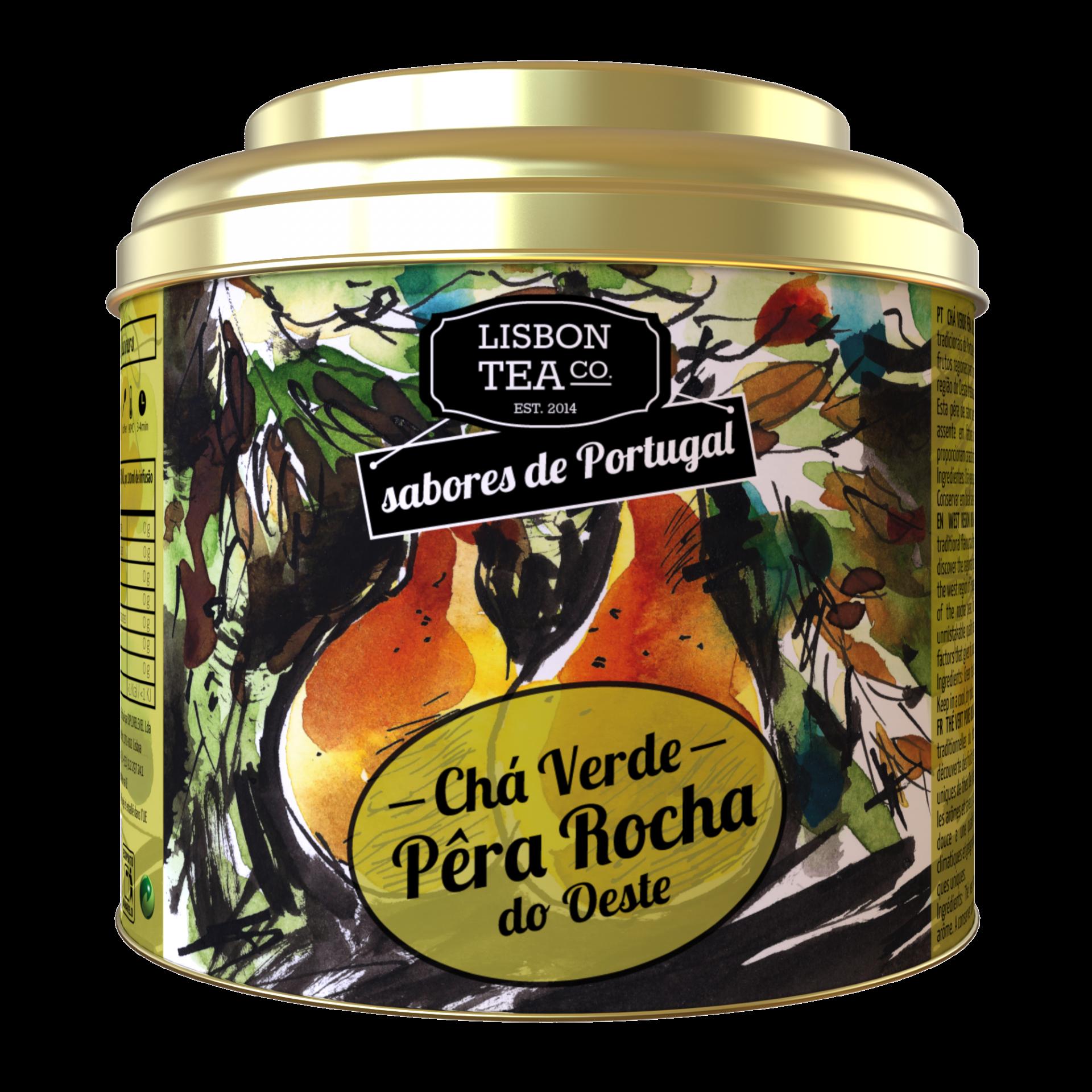 Lisbon Tea Verde Pêra Chá