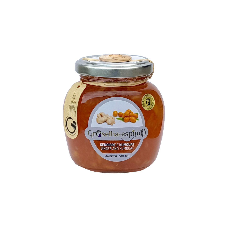 Groselha-Espim Doce Extra de Gengibre e Kumquat Compotas