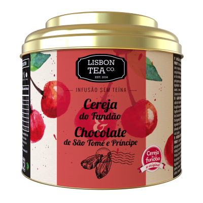 Lisbon Tea Cereja & Chocolate Infusão