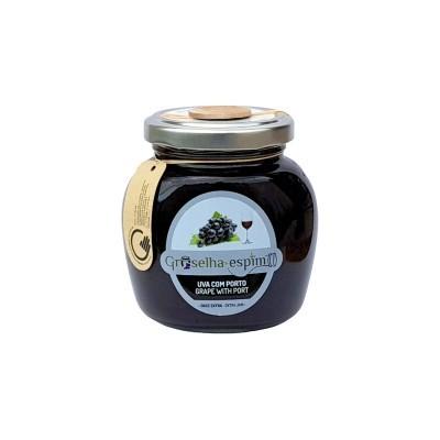 Groselha-Espim Doce Extra de Uva com Porto Compotas