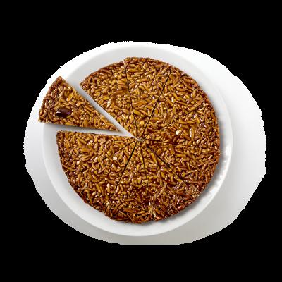 A Tarte Amêndoa sem glúten, sem lactose e -30% açúcar Tarte