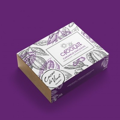 Cacao Di Vine ChocoBox Caramelo Explosivo Chocolate