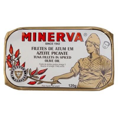 Minerva Filetes de Atum em Azeite Conservas