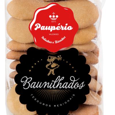 Paupério Baunilhados Biscoito