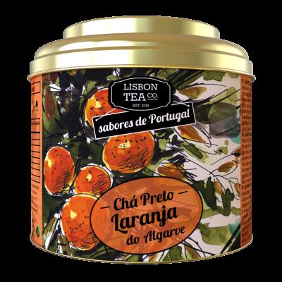 Lisbon Tea Preto Laranja Chá