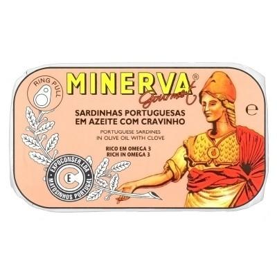 Minerva Sardinhas em Azeite com Cravinho Conservas