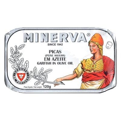 Minerva Picas em Azeite  Conservas