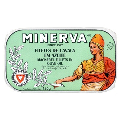 Minerva Filetes de Cavala em Azeite Conservas