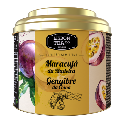 Lisbon Tea Maracujá & Gengibre Infusão