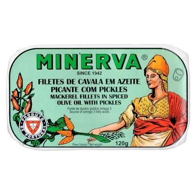 Minerva Filetes de Cavala em Azeite com Pickles Conservas