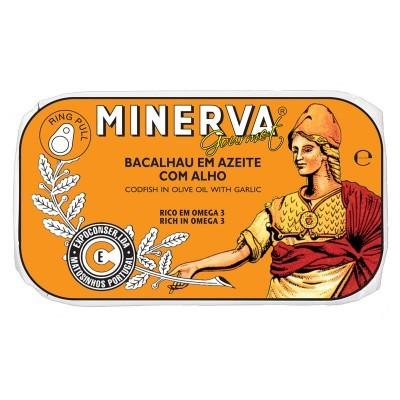Minerva Bacalhau em Azeite com Alho Conservas