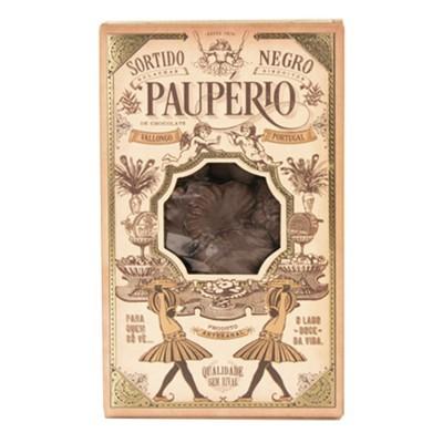 Paupério Sortido Negro Caixa 250g Biscoito