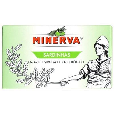 Minerva Sardinhas em Azeite Virgem Extra Biológico Conservas