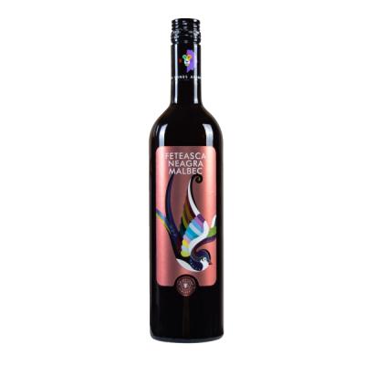 AnimAliens Feteasca Neagra & Malbec, red wine.