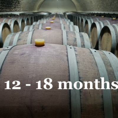 De 12 a 18 meses de barrique
