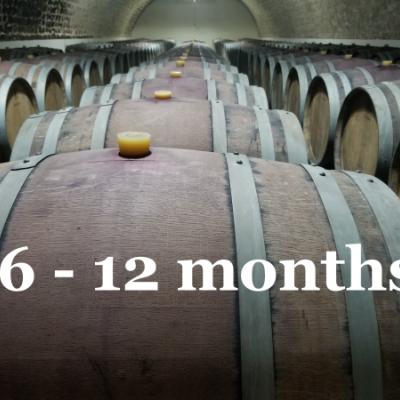 De 6 a 12 meses de barrique
