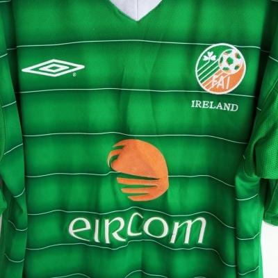 "Republic of Ireland Home Shirt 2003-2004 (L) ""Good"""