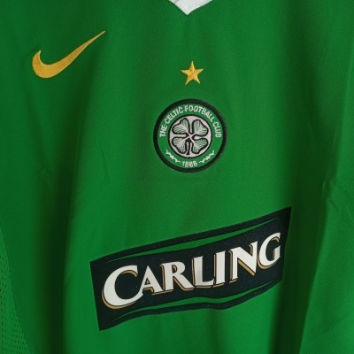 NEW Celtic FC Away Shirt L/S 2005-2006 (L Youths)