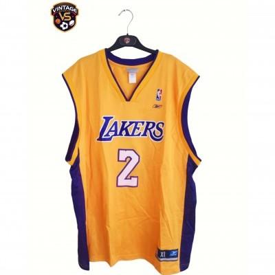 "LA Los Angeles Lakers NBA Jersey #2 Fisher (XL) ""Good"""