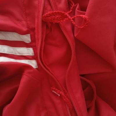 "Vintage Adidas Windbreaker Rain Jacket Red Munich 1983 (M) ""Good"""