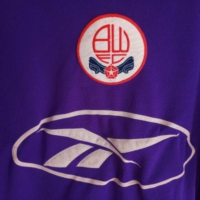 "Bolton Wanderers FC Away Shirt 1997-1998 (L) ""Good"""
