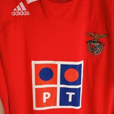 """SL Benfica Home Shirt 2007-2008 (XL) """"Perfect"""""""