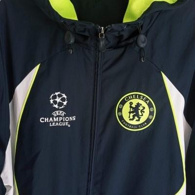 "Chelsea FC Windbreaker Rain Jacket 2007-2008 (XL) ""Perfect"""