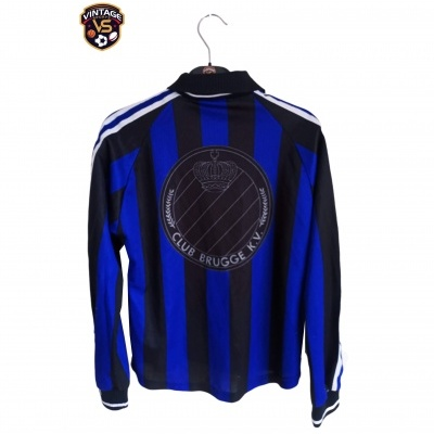 "Club Brugge Home Shirt L/S 1997-1998 (Youths) ""Good"""